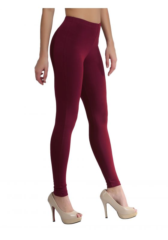 Dark Maroon Ankle Length