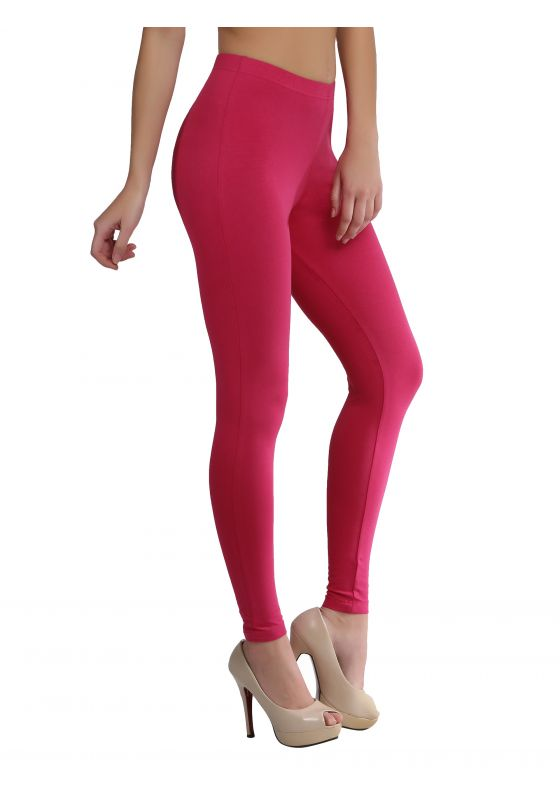 Dark Pink Ankle Length