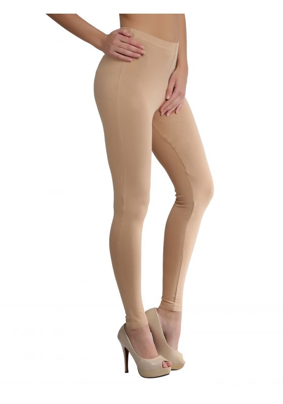 Dark Beige Ankle Length