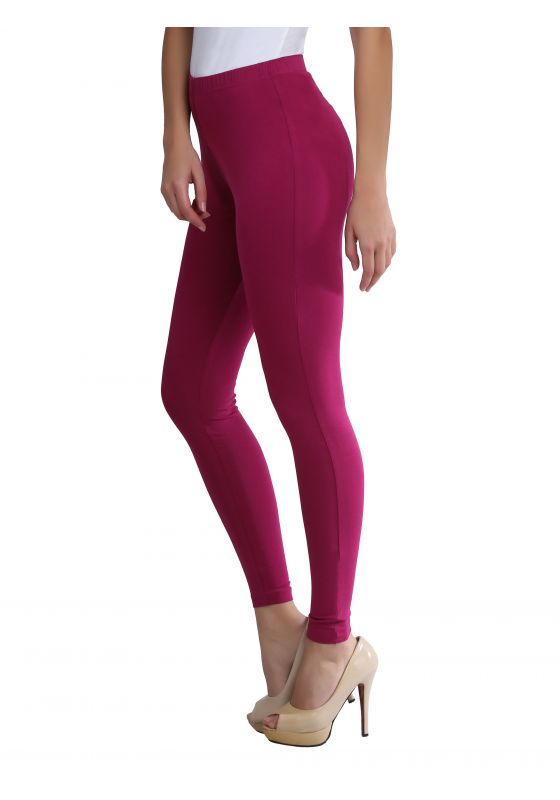 Magenta Ankle Length