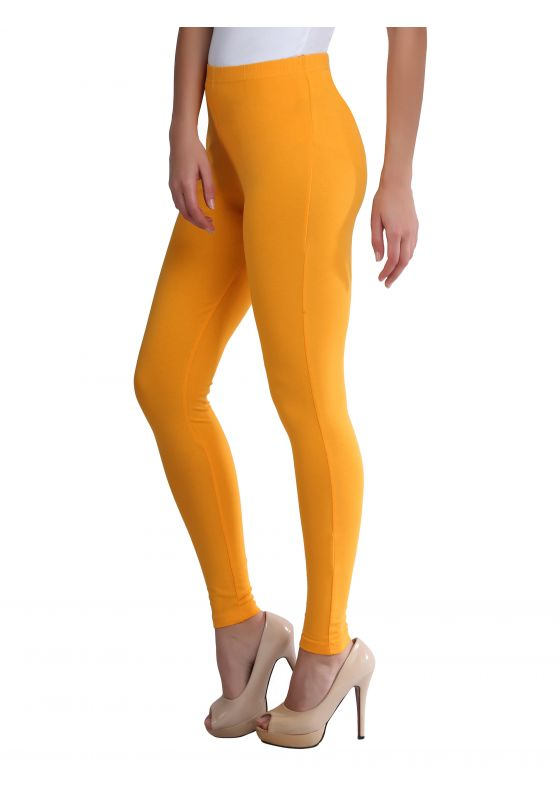 Golden Yellow Ankle Length