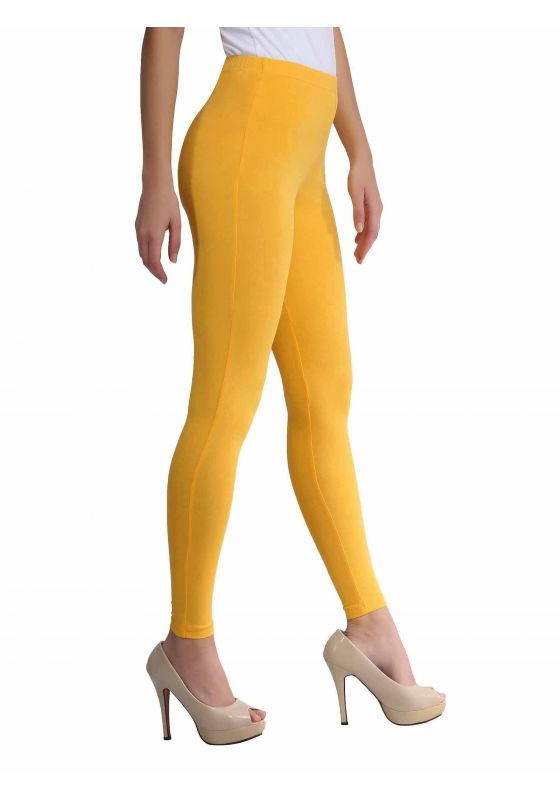 Yellow Ankle Length