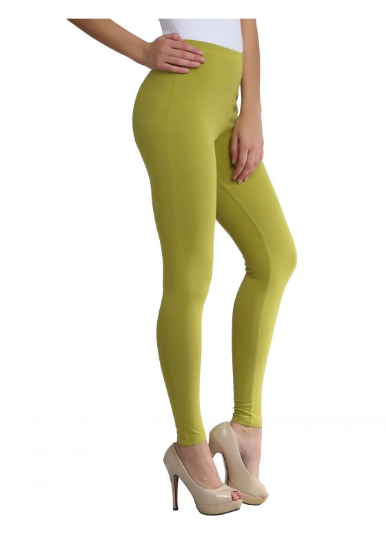 Natural Green Ankle Length