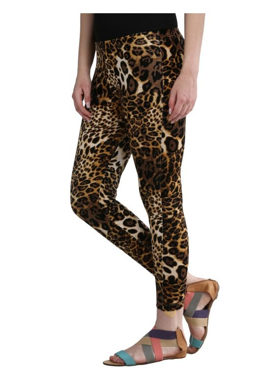 Leopard Print Legging design comfortable soft