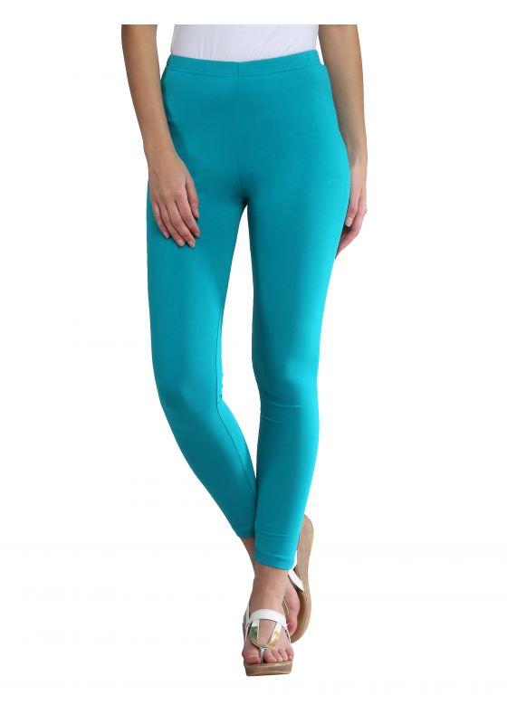 Aqua Green Ankle Length