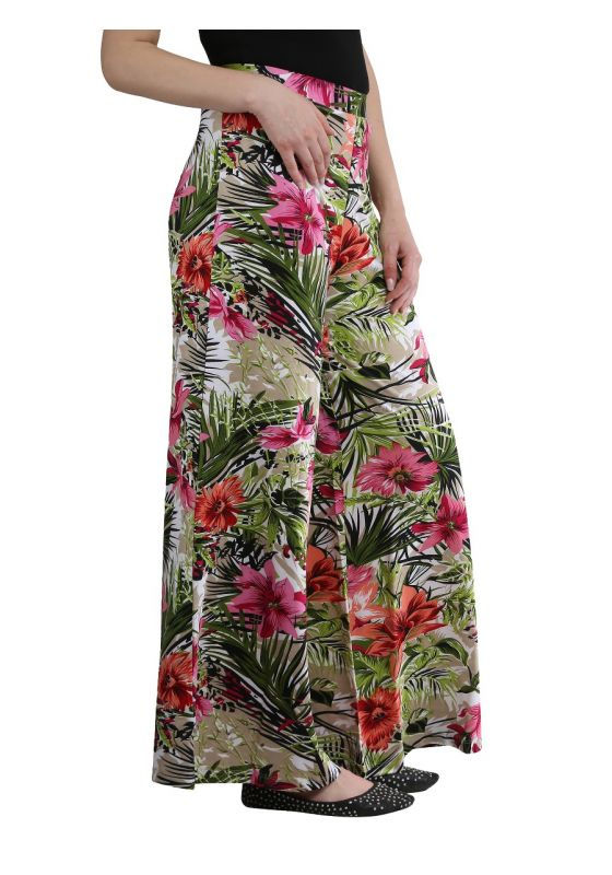 Floral Print Palazzo flower comfortable soft