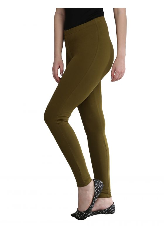 Heena Green Ankle Length
